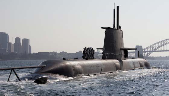 The Collins Class - Submarines in Australia   Submarine